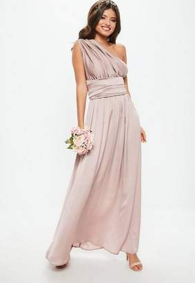 bridesmaid maxi dress with keyhole detail - Purple Ghost wi84hFhmT