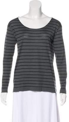 Prada Striped Knit Top
