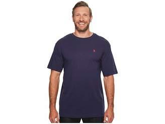 U.S. Polo Assn. Big Tall Crew Neck Small Pony T-Shirt Men's T Shirt