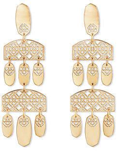 Kendra Scott Emmett Filigree Chandelier Dangle Earrings