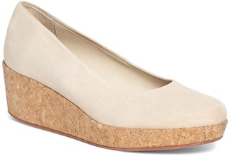 Brooks Brothers Cork Wedges