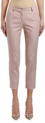 Dolce & Gabbana Stretch-Cotton Ankle Pants