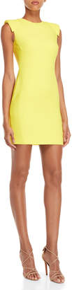 Antonio Berardi Yellow Mini Sheath Dress