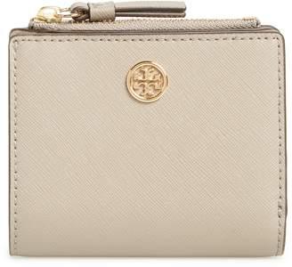 Tory Burch Mini Robinson Wallet Leather Bifold Wallet