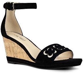 Women's Nine West Julian Wedge Sandal $98.95 thestylecure.com