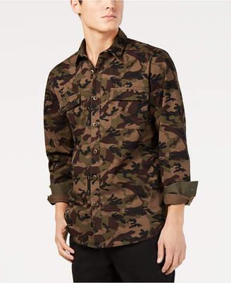 American Rag Men's Camo Shirt
