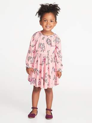 Old Navy Fit & Flare Floral Dress for Toddler Girls