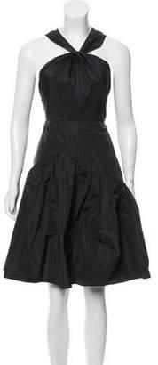 Rebecca Taylor A-Line Midi Dress