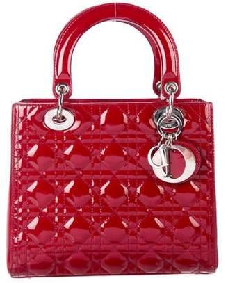 8be01d51f9b Christian Dior Medium Lady Bag w/ Strap