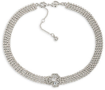 Carolee Carolee Something Borrowed Cubic Zirconia Choker Necklace