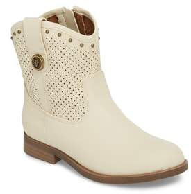 Frye Melissa Perforated Button Boot