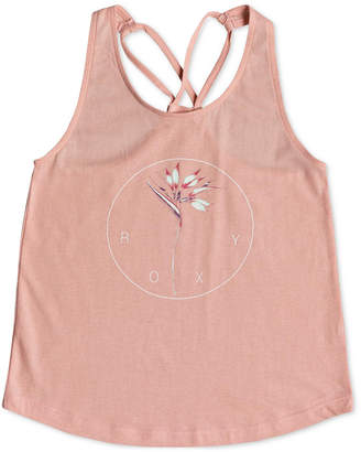 Roxy Graphic-Print Tank Top, Big Girls