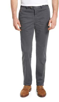Hiltl Pero Trim Fit Flat Front Chino Trousers