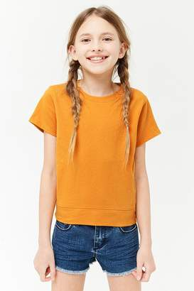 Forever 21 Girls Crew Neck Tee (Kids)