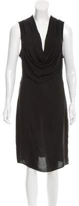Helmut Lang Sleeveless Midi Dress