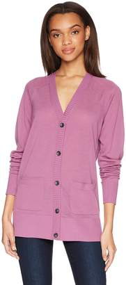 Pendleton Women's Lightweight Merino Wool Cardigan Sweater
