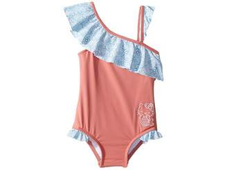 Hello Kitty O'Neill Kids r) Shelly One-Piece Swimsuit (Toddler/Little Kids)