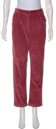 Brunello Cucinelli Mid-Rise Straight-Leg Pants