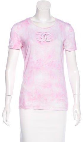 Chanel Tie-Dye CC T-Shirt