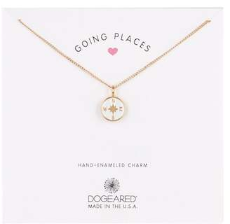 Dogeared Going Places Compass Pendant Necklace
