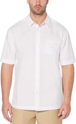 Cubavera Big & Tall Vertical Seersucker Pocket Shirt
