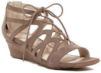 Kenneth Cole Reaction Fun Night Wedge Sandal $79 thestylecure.com