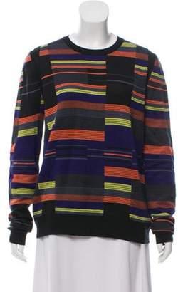 Proenza Schouler Silk Crew-Neck Sweater Black Silk Crew-Neck Sweater