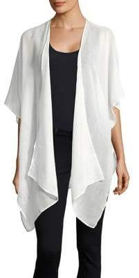 Lord & Taylor Shimmer Asymmetrical Cape