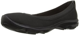 crocs Women's Busy Day Stretch Ballet Flat $49.99 thestylecure.com