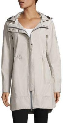 Herno Zip-Front Anorak Jacket $825 thestylecure.com
