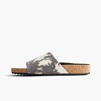 James Perse LUNA COTTON LINEN PALM SLIDE - WOMENS