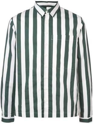 Sunnei striped button shirt
