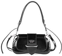 Prada Women's Sidonie Patent Leather Shoulder Bag