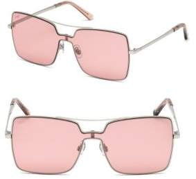 Web Metal Shield Square Sunglasses