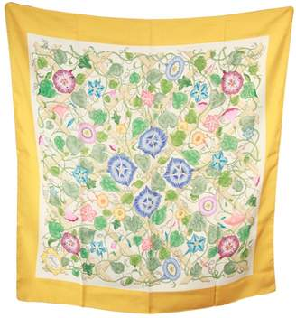 Gucci Vintage Yellow Silk Scarves