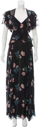 Nicholas Piper Floral Backless Dress w/ Tags