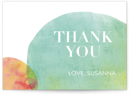 Time To Adult Birthday Party Thank You Cards