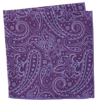 Original Penguin Latona Paisley Pocket Square