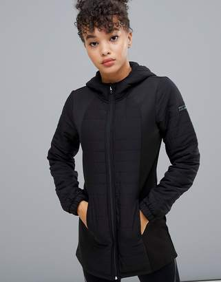 Only Play Hooded Long Jacket