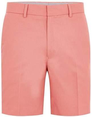 Topman Mens Dusty Pink Twill Shorts