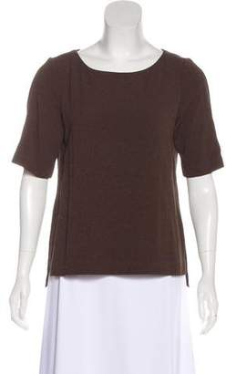 Rag & Bone Short Sleeve Scoop Neck Top