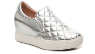 Wanted Brioches Wedge Sneaker $70 thestylecure.com