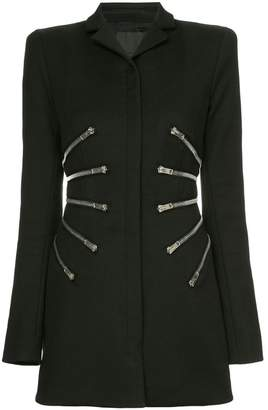 Alexander Wang sculpted jacket with zipper detail