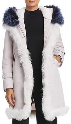 Maximilian Furs Rabbit Fur-Lined Parka with Lamb Shearling & Fox Fur Trim - 100% Exclusive