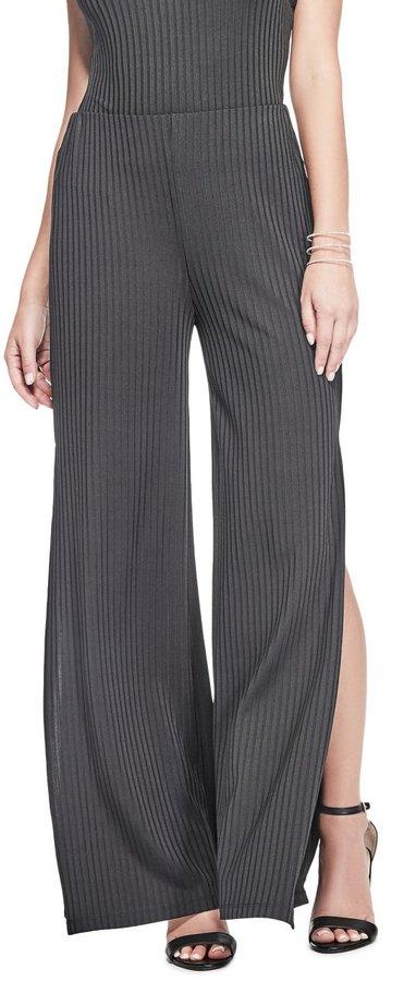 GUESS Women's Carson Ribbed Pants
