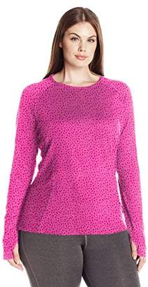 Fruit of the Loom Women's Plus Size Fit for Me Core Performance Thermal Top