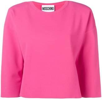 Moschino boxy fit sweatshirt