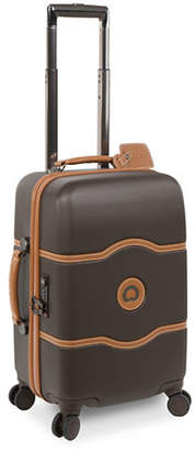 Delsey Chatelet Plus 19-Inch Carry-On Spinner Luggage