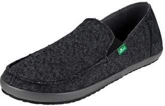 Sanuk Casual Shoes Mens Rounder Hobo Mesh Canvas 10 M 1017916