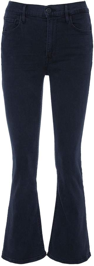 'W4 Crop Boot' flared jeans